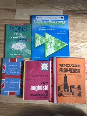 Zestaw ksiazek do angielskiego