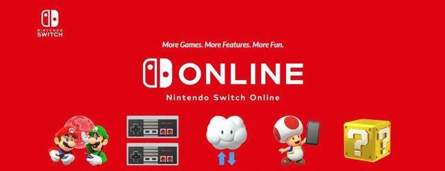 Nintendo Switch Online 1 ROK + 3 MIESIĄCE GRATIS