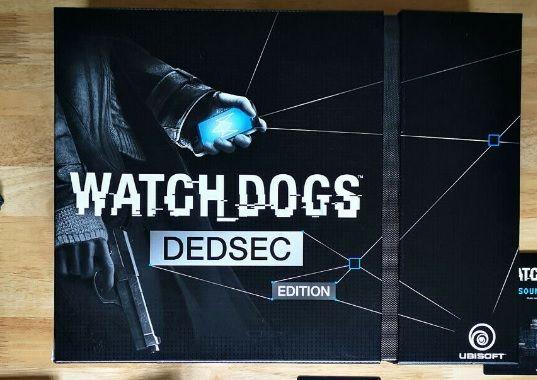 Coleccionador Caixa Watch Dogs DedSec