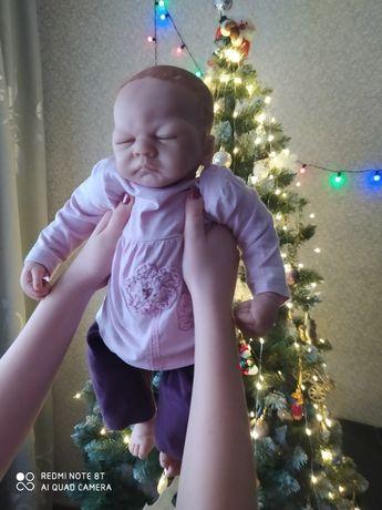 Кукла Эштон Дрейк 52 см как реборн,младенец,пупс,беби борн