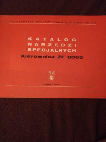 Katalog narzedzi specjalnych Kierownica ZF 8065