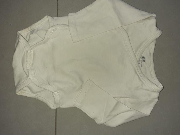 Body HM białe kopertowe