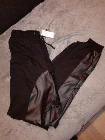 Nowe z metką Spodnie dresowe baggy rozmiar S