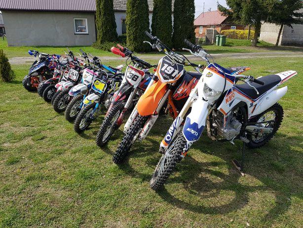 Jazda motocross / pitbike / quad / wypożyczalnia