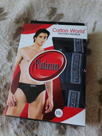 9x Slipów męskich XXXL Cotton World