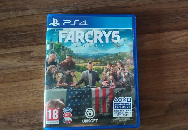 Far Cry 5 ps4 . Язык только ENG,PL,CZ