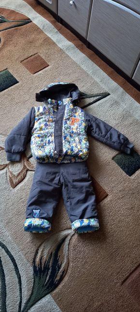 Новый осенний комбенизон с курточкой на мальчика 1,5-2 года