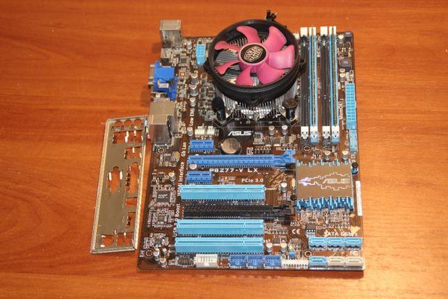 Набор Core i5-3330 + Asus P8Z77-V LX + 16Gb DDR3 Transcend