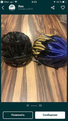 Шлемы specialized и aerogo для велосипеда