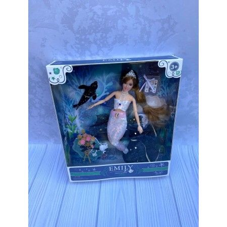 Кукла Русалка 29 см -Шарнирная
