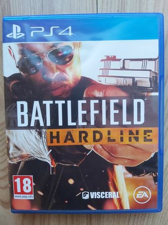 Battlefield Hardline ( PS4 ) Stan BDB!!!