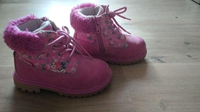 Buty, traperki dla dziewczynki