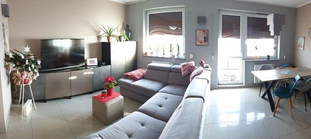 mieszkanie bartodzieje 60 m salon z kuchnią 2 pokoje garaż