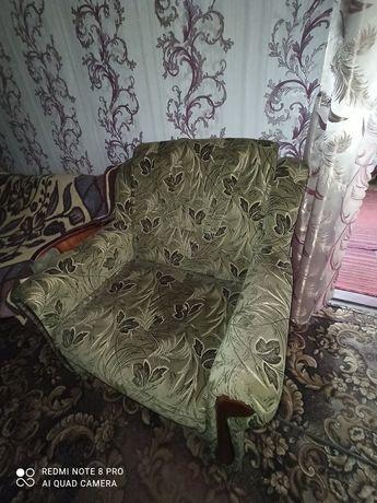 Кресло-кровать б/у спальное место 70*190 Бородинский мкр-н