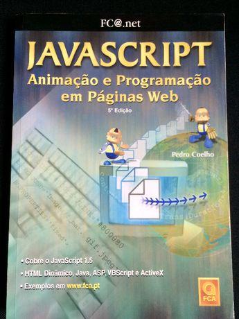 """Livro """"JavaScript - Animação e Programação em Páginas Web"""""""