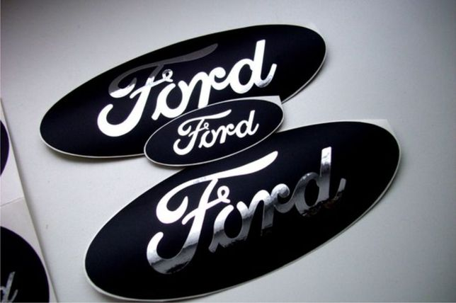 Наклейка на авто форд Ford виниловые наклейки