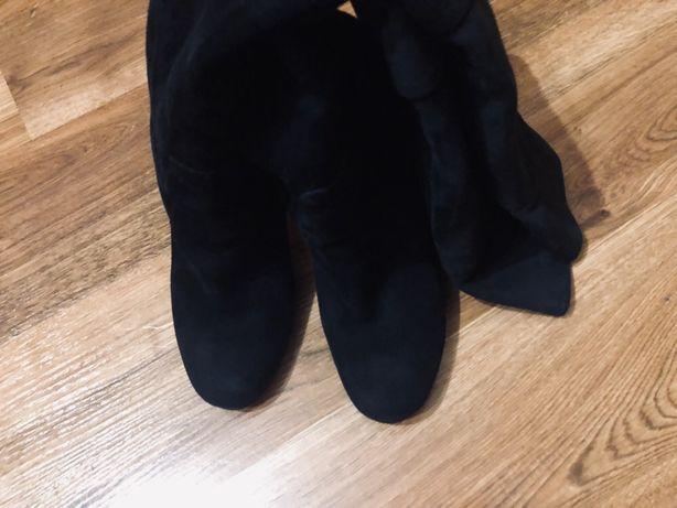 Зимние сапоги, ботфорты