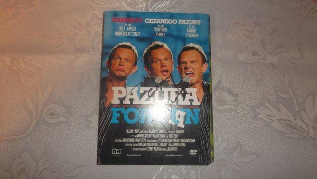 Kabarety Cezary Pazura 3 DVD for fuan AUTOGRAF