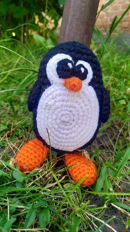 """Вязаная игрушка """"Пингвиненок"""""""