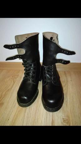 Buty skórzane Wojskowe