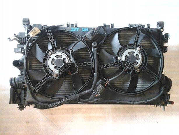 Радиатор охлаждения вентилятор BEHR Opel Insignia Опель Инсигния 2.0 т