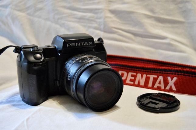 Maquina Fotográfica Pentax SF7 + Com objetiva original 28-80