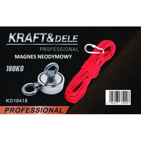 Uchwyt magnetyczny magnes neodymowy 180 kg KD10418
