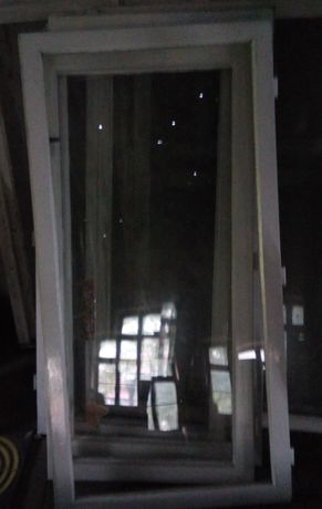 drewniane okna sprzedam