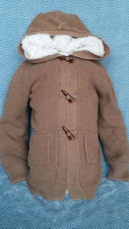Sweterek dziewczęcy rozm. 110, wiek 4-5 lat