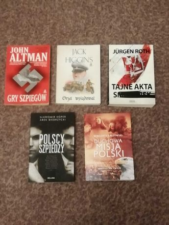 Zestaw 5 książek
