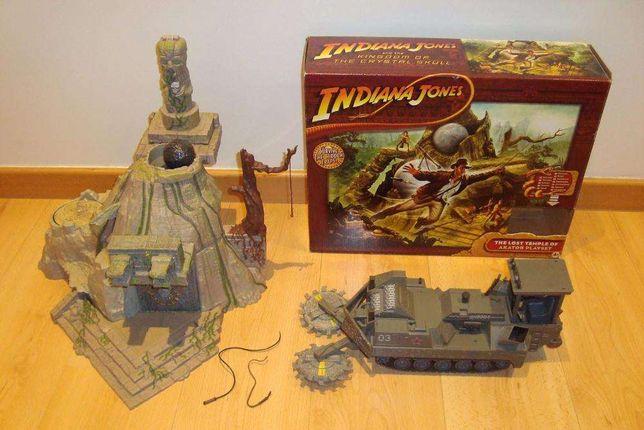 Indiana Jones Templo em caixa + Jungle Cutter
