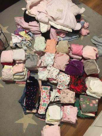 Mega paka, ubranka , wyprawka dla dziewczynki 56/62