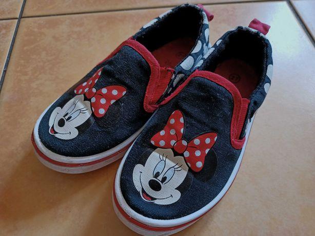 Buty tenisówki paputki Minnie 27