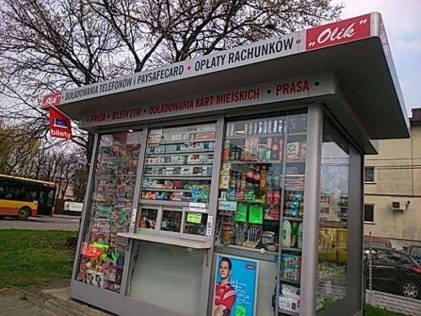 Kiosk Piaseczno centrum
