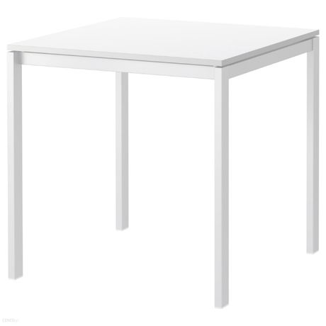 stół biały ikea melltorp 75x75x75
