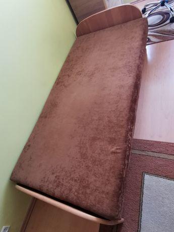 Tapczanik ze skrzynią na pościel łóżko 190x90