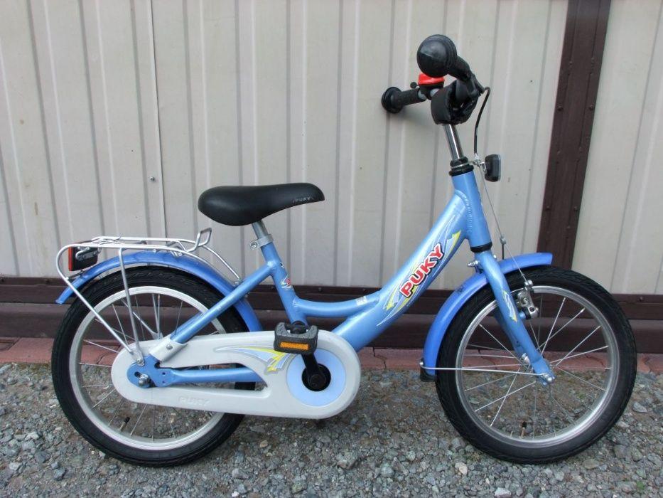 Alu rowerek dziecięcy PUKY-koła 16 cali Leszno - image 1