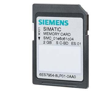 Cartão de memória Simatic S7 de 256Mb para autómatos Siemens S7-1x00