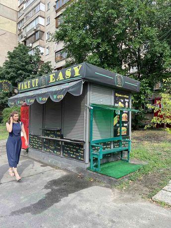 Маф возле парка Позняки, ул. Драгоманова, 27. Жилые дома, остановка.