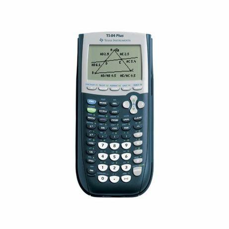 Calculadora TI 84 Plus