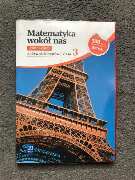 Matematyka wokół nas gimnazjum klasa 3 WSiP zbiór zadań