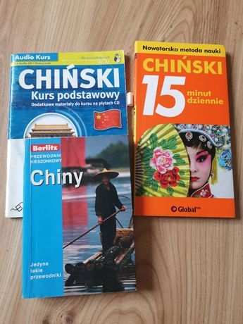 Rozmówki chińskie, przewodnik kieszonkowy Chiny, Berlitz