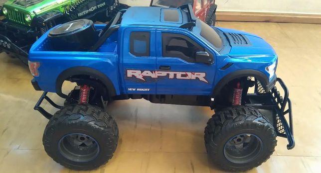 Ford F150 Raptor 1:8 R/C Kompletna nowa rama z silnikiem i kołami