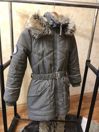 Зимняя Куртка Парка Lenne 140 Зима. Состояние новой.