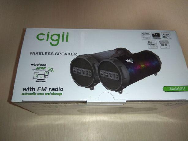 Портативная Bluetooth колонка  Cigii S41