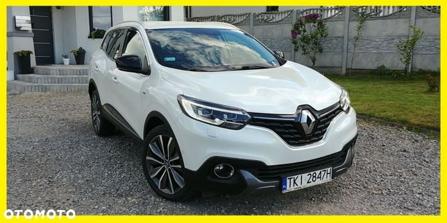 Renault Kadjar 1.6Dci130KM,BOSE 4x4,Salon PL,Biała perła,serwisowany.full opcja