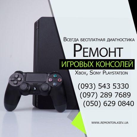 Ремонт PlayStation 3, ремонт XBOX 360, реболлинг XBOX, PS3, PS4 PS4pro