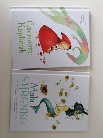 Książki dla dzieci Czerwony kapturek, Mała syrenka