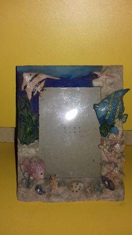 Ramka na zdjęcie z motywem morskim