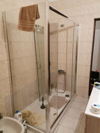 Resguardo duche + 2 portas de correr